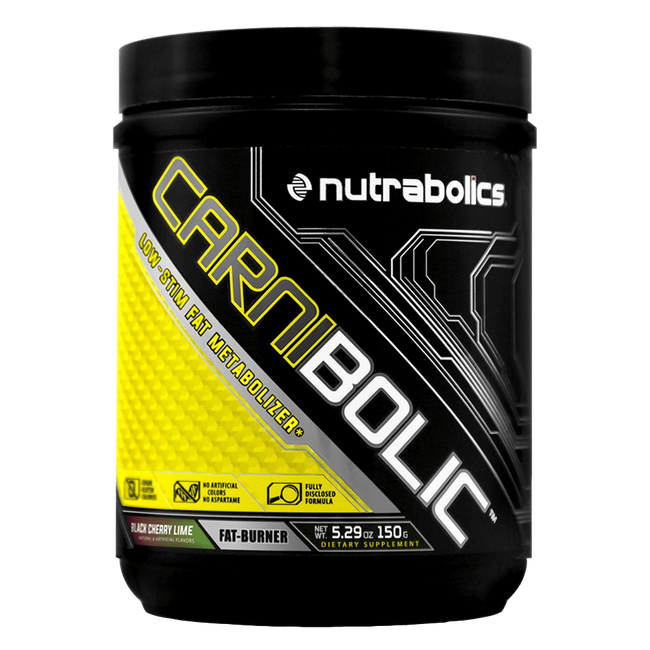 Black Cherry Lime Carnibolic by Nutrabolics Weight Loss Support Fat Burner at Supplement Superstore Canada