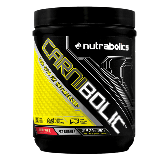 Fruit Punch Carnibolic by Nutrabolics Weight Loss Support Fat Burner at Supplement Superstore Canada