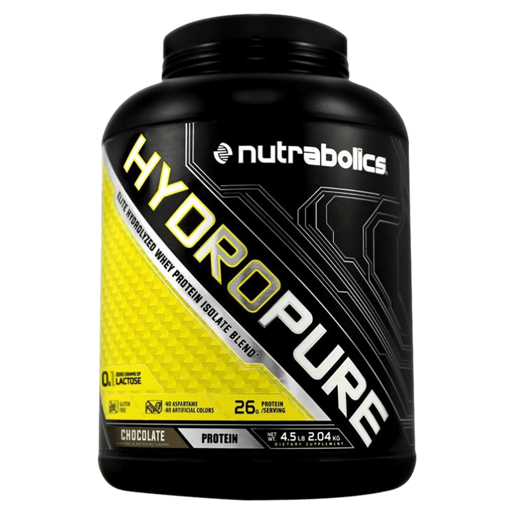 Chocolate HydroPure by Nutrabolics Hydrolyzed Whey Protein Isolate at Supplement Superstore Canada