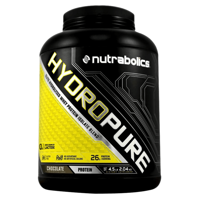 Nutrabolics HydroPure Whey Protein Isolate 4.5lb / Chocolate at Supplement Superstore Canada