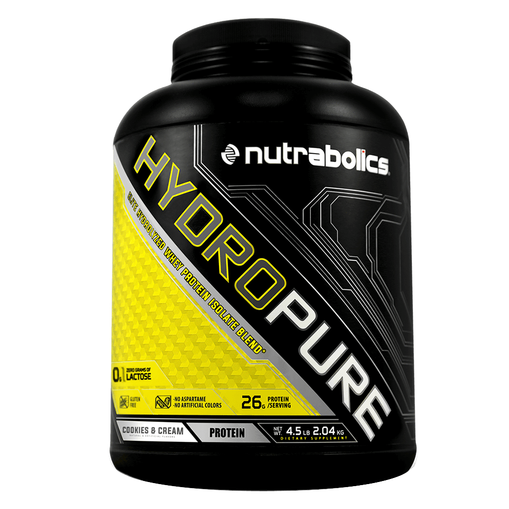 Cookies and Cream HydroPure by Nutrabolics Hydrolyzed Whey Protein Isolate at Supplement Superstore Canada