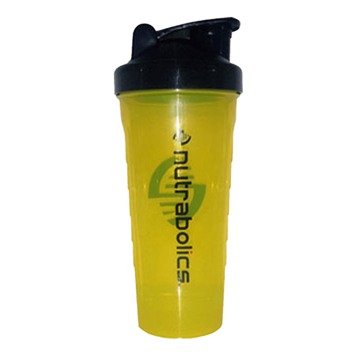 Nutrabolics Shaker Shaker 800ml / Yellow/Black at Supplement Superstore Canada