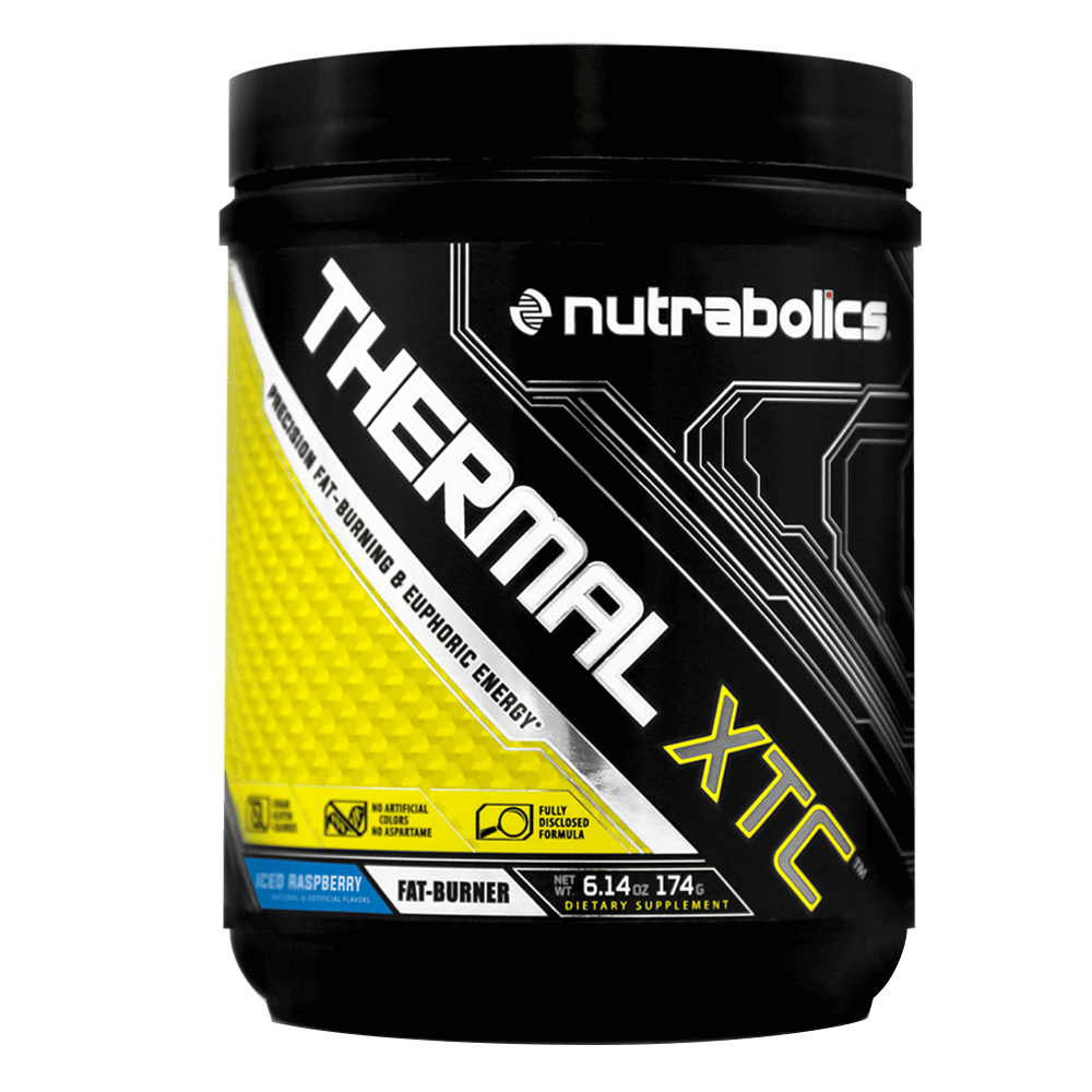 Nutrabolics Thermal XTC Fat Burner 30 Servings / Iced Raspberry at Supplement Superstore Canada