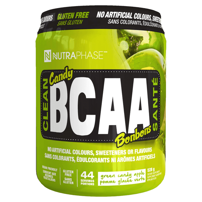 Nutraphase BCAA BCAA 44 Servings / Green Candy Apple at Supplement Superstore Canada