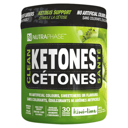 NutraPhase Clean Ketones BHB Supplements 30 Servings / Kiwi-Lime at Supplement Superstore Canada 628618002065