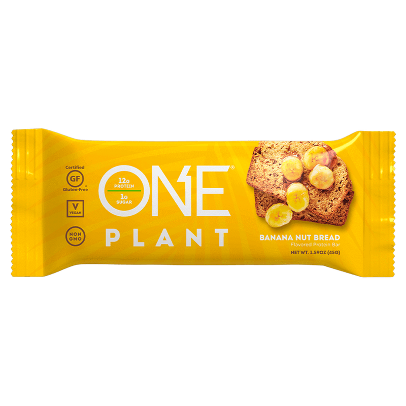 ONE Plant Bar Protein Bar Box of 12 / Chocolate Peanut Butter at Supplement Superstore Canada