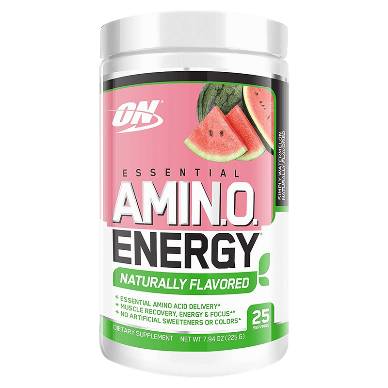 Optimum Nutrition Amino Energy Naturally Flavoured BCAA + Energy 25 Servings / Fruit Punch at Supplement Superstore Canada