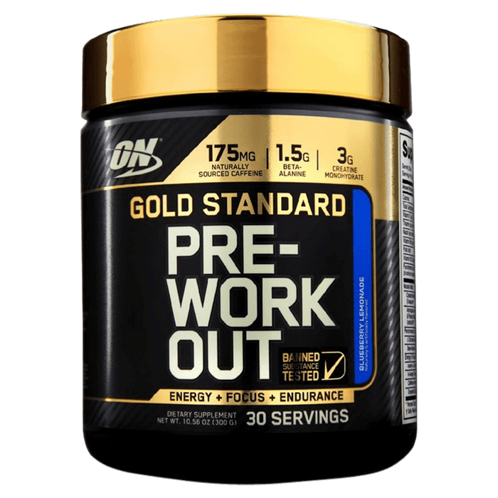 Optimum Nutrition Gold Standard Pre-Workout Pre-Workout Supplements 30 Servings / Blueberry Lemonade at Supplement Superstore Canada