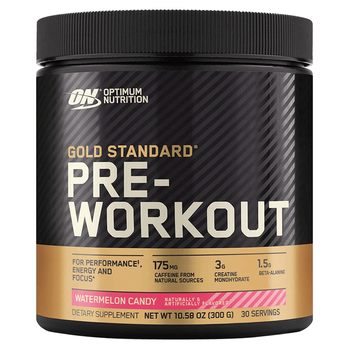 Optimum Nutrition Gold Standard Pre-Workout Pre-Workout Supplements 30 Servings / Watermelon Candy at Supplement Superstore Canada