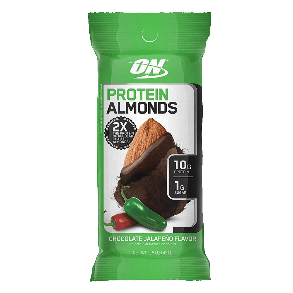 Optimum Nutrition Protein Almonds Functional Food 1 Packet / Chocolate Jalapeño at Supplement Superstore Canada