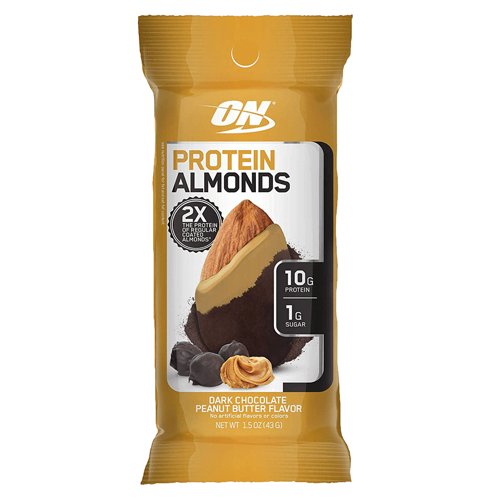 Optimum Nutrition Protein Almonds Functional Food 1 Packet / Dark Chocolate Peanut Butter at Supplement Superstore Canada