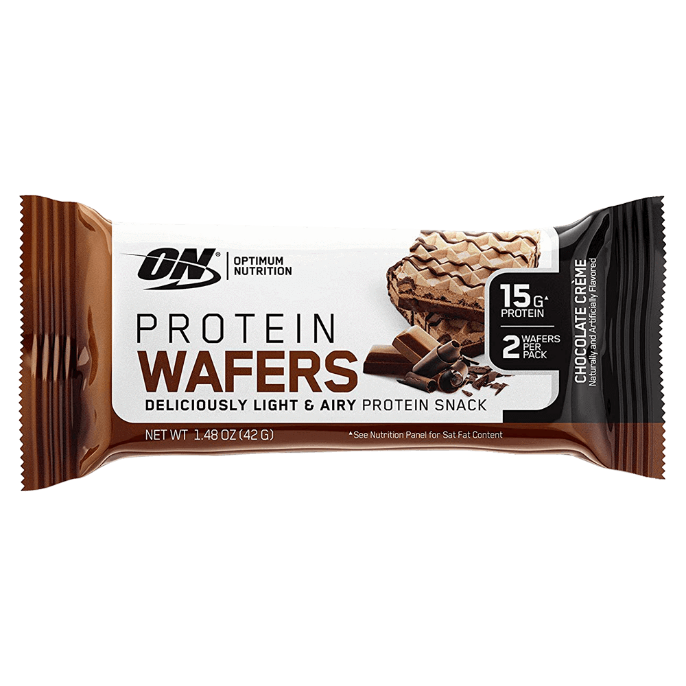 Optimum Nutrition Protein Wafers Protein Bar 1 Bar / Chocolate Creme at Supplement Superstore Canada