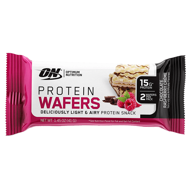 Optimum Nutrition Protein Wafers Protein Bar Box of 9 / Chocolate Creme at Supplement Superstore Canada
