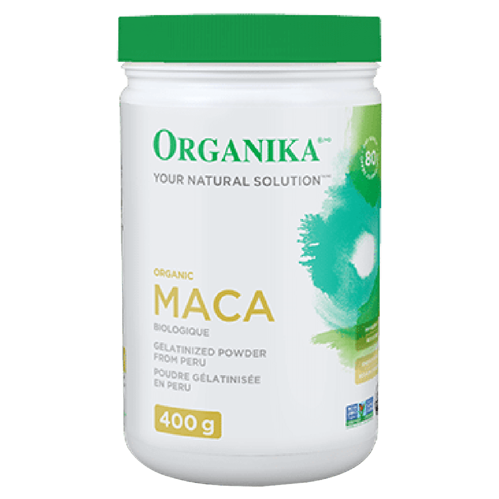 Organika MACA Raw Ingredient Hormone Support 400g / Unflavoured at Supplement Superstore Canada