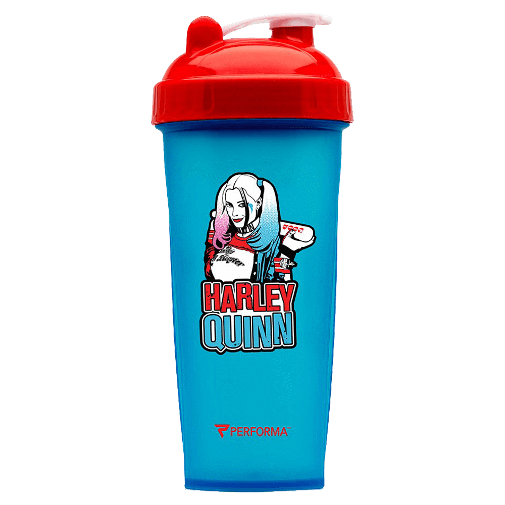 Perfect Shaker Villain Series Shaker 800ml / Harley Quinn at Supplement Superstore Canada