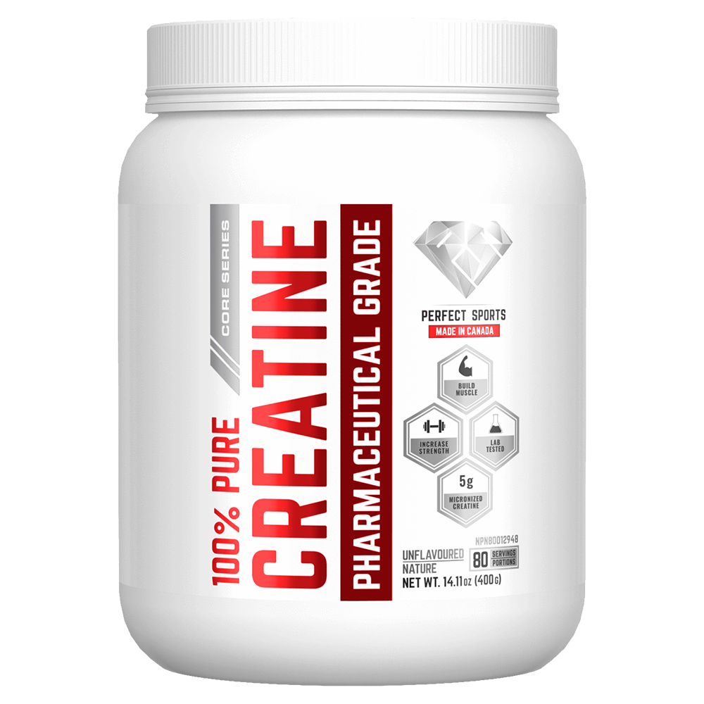 Perfect Sports 100% Pure Creatine Monohydrate Creatine 400g / Unflavoured at Supplement Superstore Canada