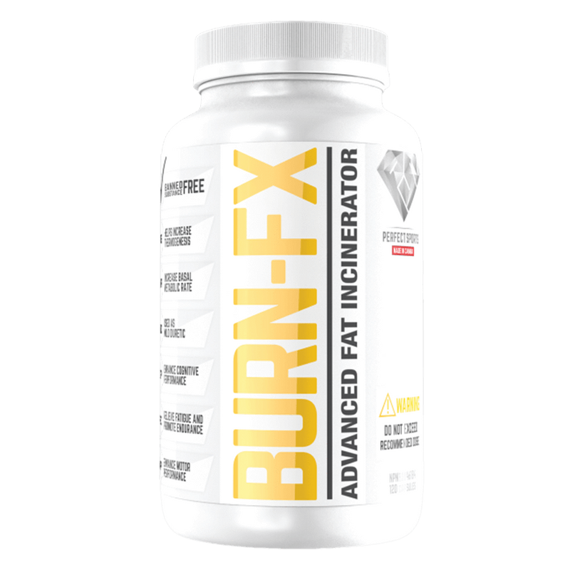 Perfect Sports Burn FX Fat Burner 120 Capsules at Supplement Superstore Canada