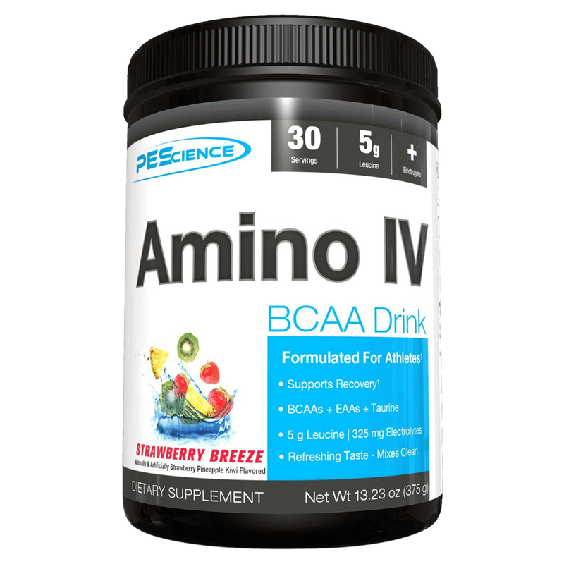 PEScience Amino IV BCAA 30 Servings / Orange Dreamsicle at Supplement Superstore Canada