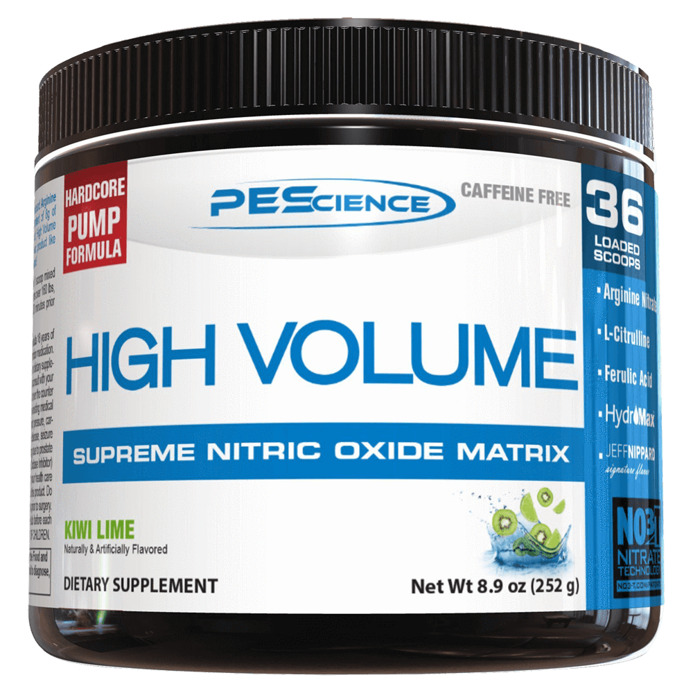 PEScience High Volume Pump & Vasodilator 36 Servings / Kiwi Lime at Supplement Superstore Canada