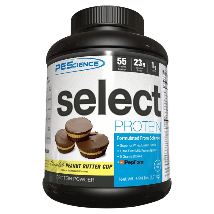 PEScience Select Protein Sustained Release Protein 55 Servings / Chocolate Peanut Butter Cup at Supplement Superstore Canada