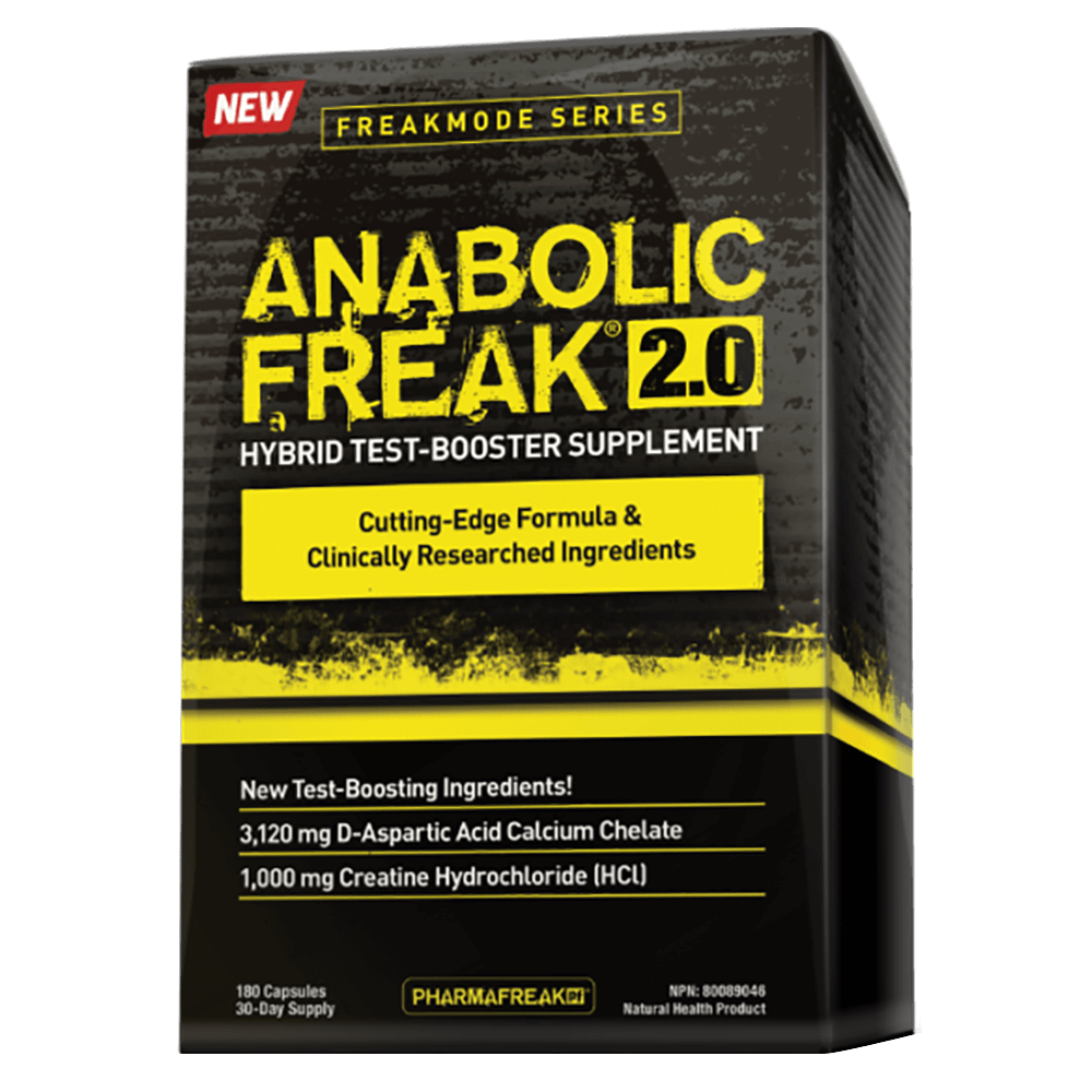 PharmaFreak Anabolic Freak 2.0 Test Booster 180 Capsules at Supplement Superstore Canada