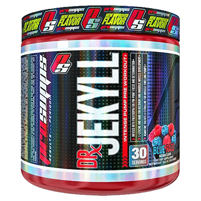 ProSupps Dr. Jekyll Pre-Workout 30 Servings / Blue Razz at Supplement Superstore Canada