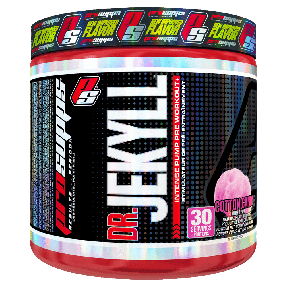 ProSupps Dr. Jekyll Pre-Workout 30 Servings / Cotton Candy at Supplement Superstore Canada
