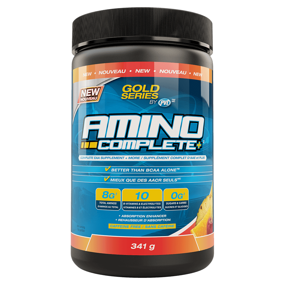 PVL Amino Complete BCAA 31 Servings / Tropical Punch at Supplement Superstore Canada