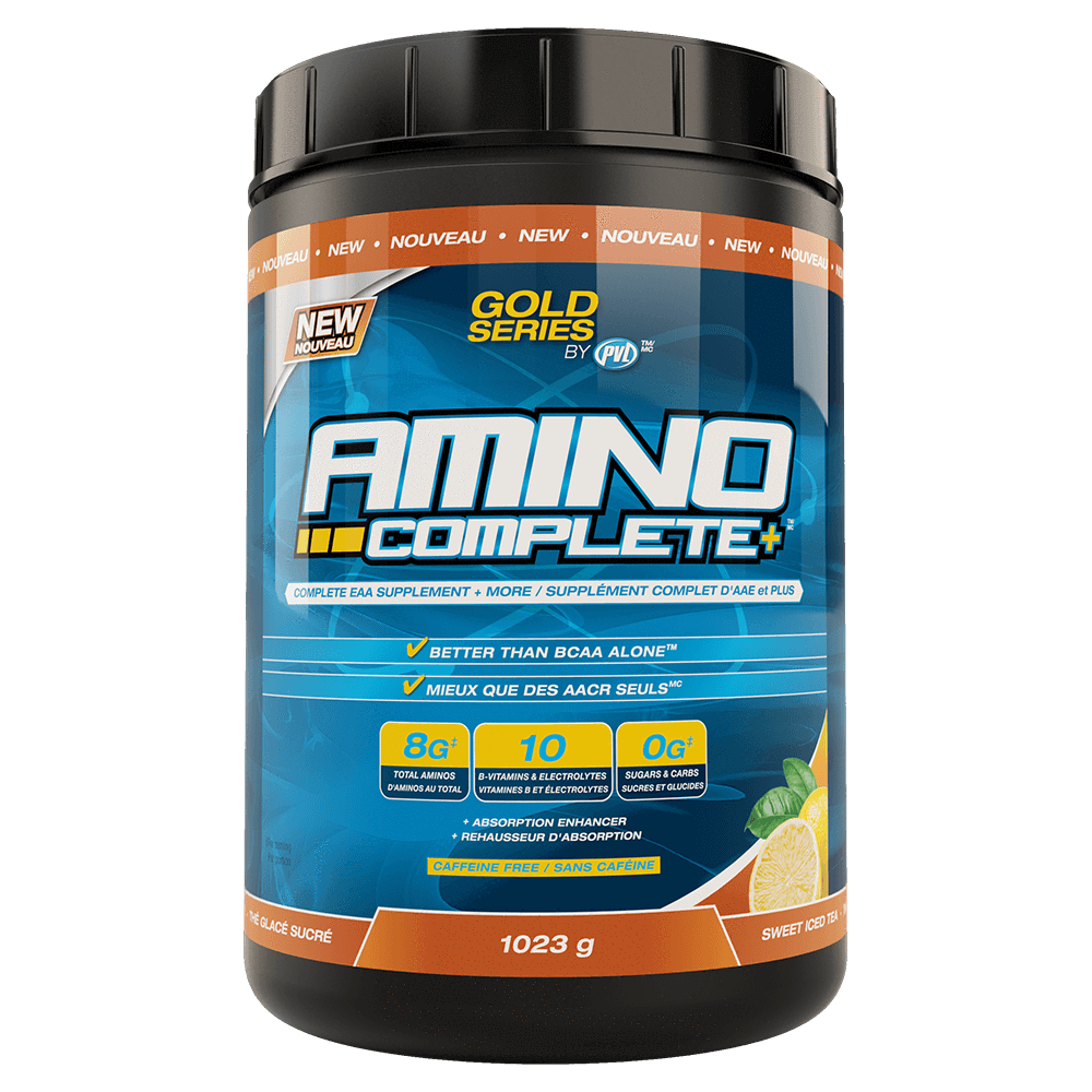 PVL Amino Complete BCAA 93 Servings / Sweet Iced Tea at Supplement Superstore Canada