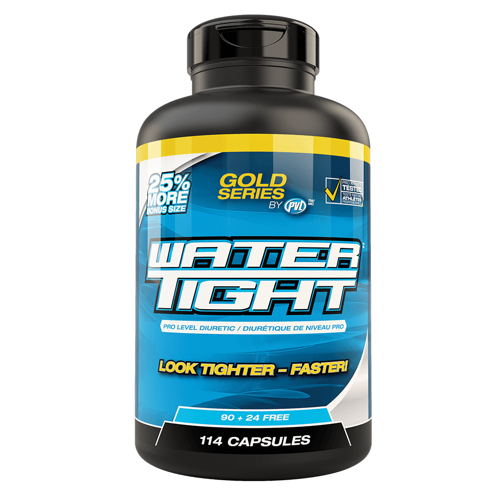 "PVL WaterTight Diuretic 114 Capsules ""Bonus Size"" at Supplement Superstore Canada"