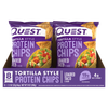 Quest Protein Chips Chips Box of 8 / Tortilla Style / Loaded Taco at Supplement Superstore Canada