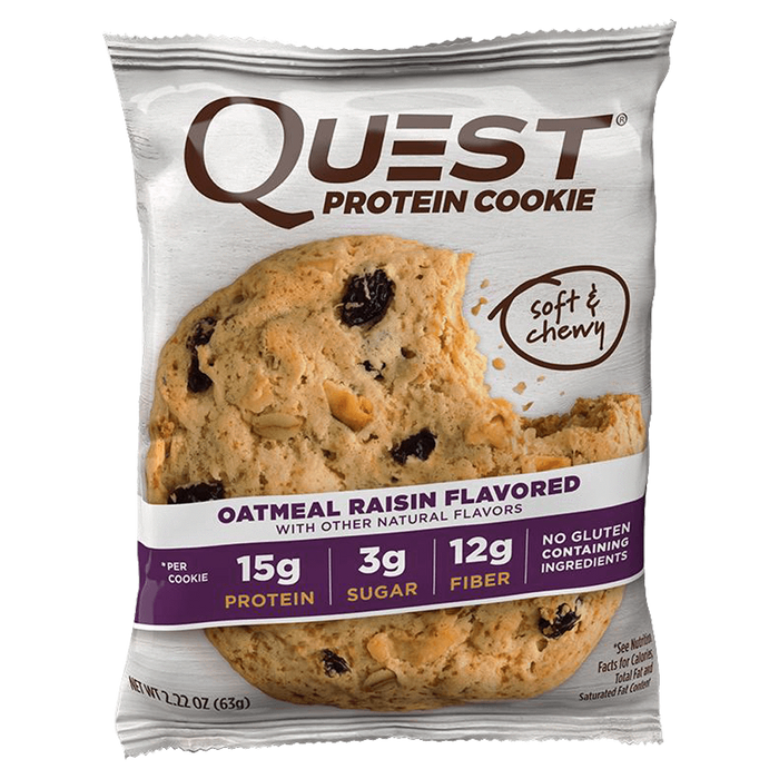 Quest Protein Cookie Cookie 1 Cookie / Oatmeal Raisin at Supplement Superstore Canada