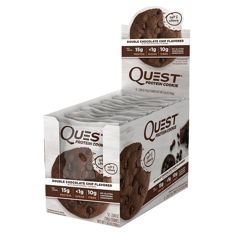 Quest Protein Cookie Cookie 1 Cookie / Chocolate Chip at Supplement Superstore Canada