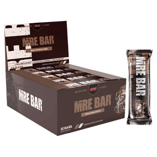 RedCon1 MRE Protein Bar Protein Bars Box of 12 / German Chocolate Cake at Supplement Superstore Canada 810044570755