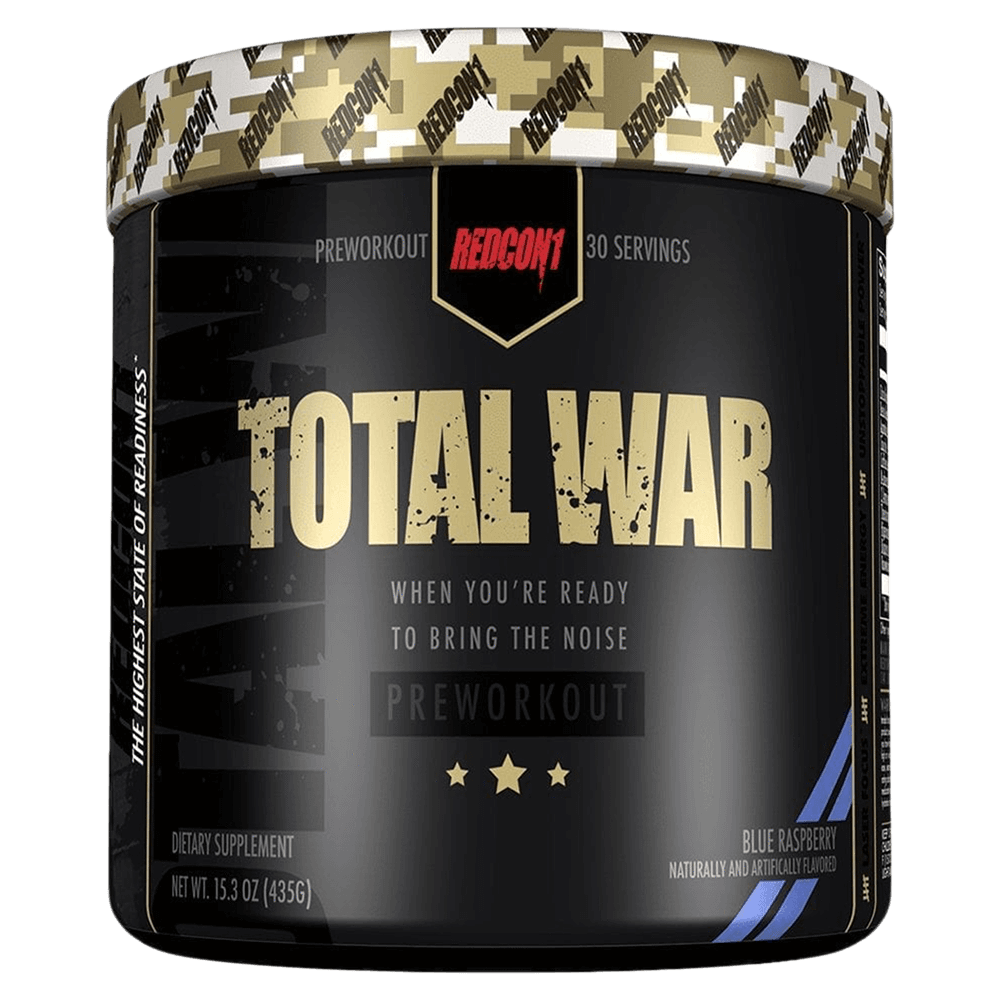 RedCon1 Total War Pre Workout 30 Servings / Blue Raspberry at Supplement Superstore Canada