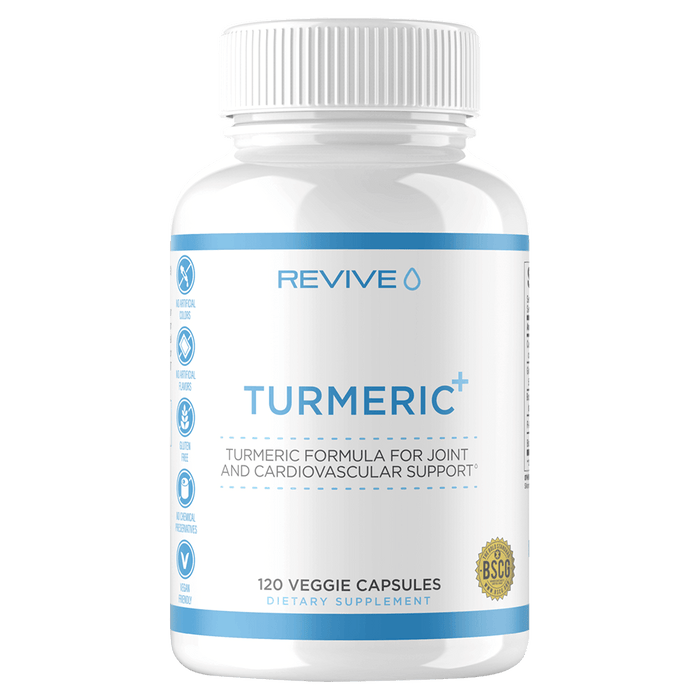 Revive MD Turmeric+ Health Supplements 120 Capsules at Supplement Superstore Canada 728614776219