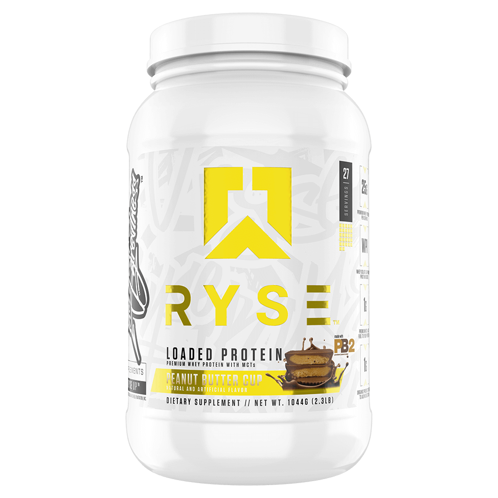 Ryse Loaded Protein Mixed Source Whey Protein 2lb / Peanut Butter Cup at Supplement Superstore Canada