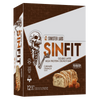 Sinister Labs Sin Fit Protein Bar Protein Bar Box of 12 / Caramel Crunch at Supplement Superstore Canada