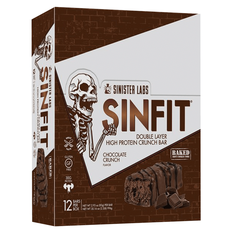 Sinister Labs Sin Fit Protein Bar