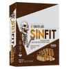Sinister Labs Sin Fit Protein Bar Protein Bar Box of 12 / Peanut Butter Crunch at Supplement Superstore Canada