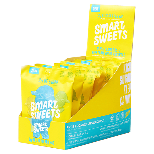 Smart Sweets Sour Blast Buddies Candy Sour / Box of 12 at Supplement Superstore Canada