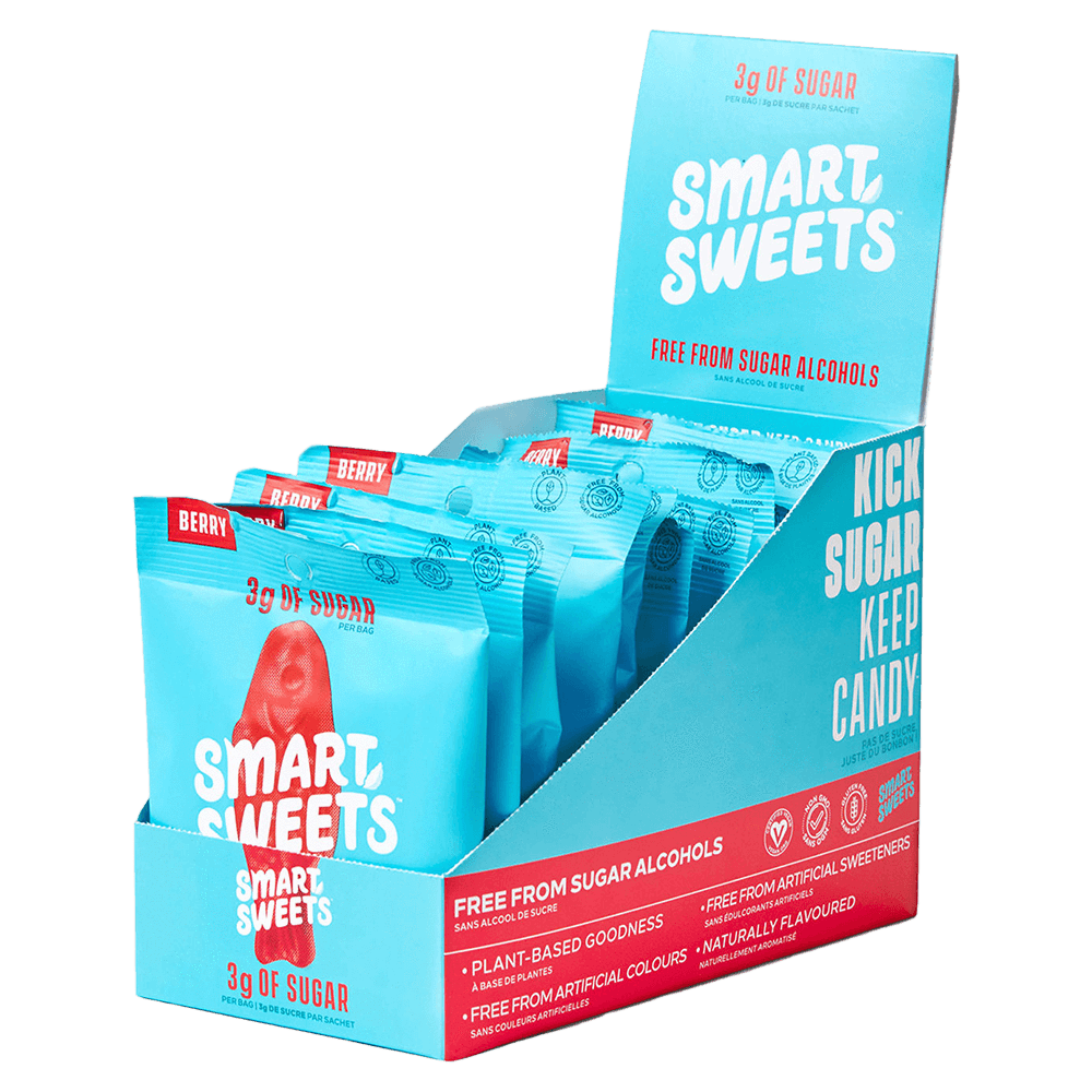 Smart Sweets Sweet Fish Candy Berry / Box of 12 at Supplement Superstore Canada