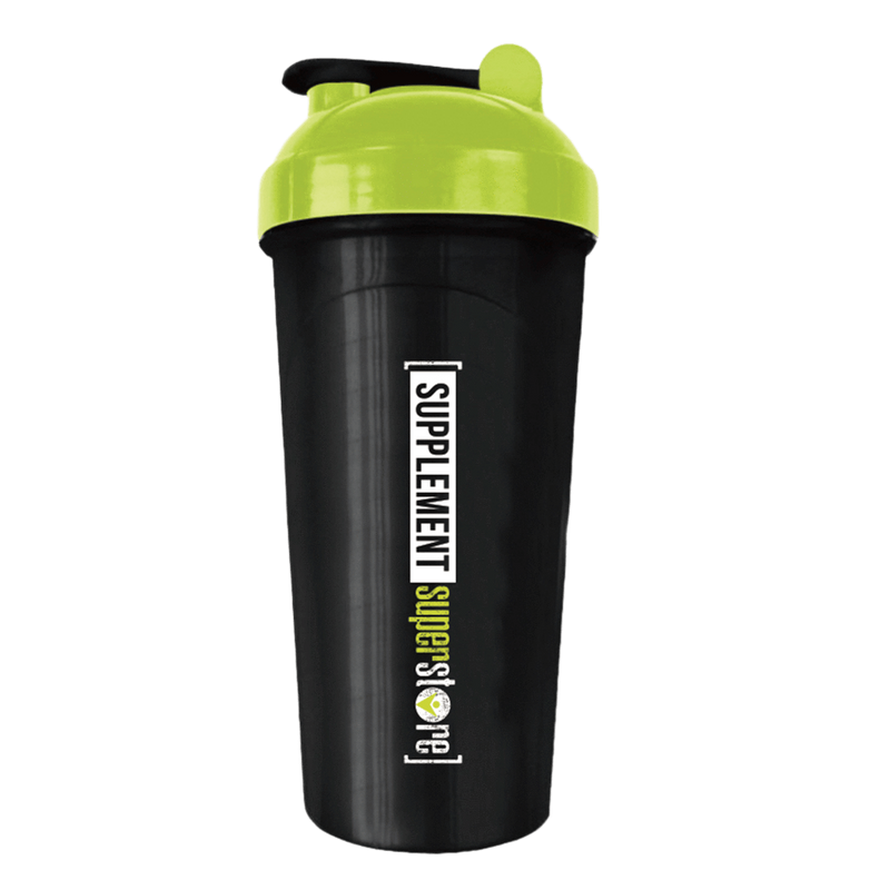 Supplement Superstore Shaker Shaker 800ml / Black/Green at Supplement Superstore Canada