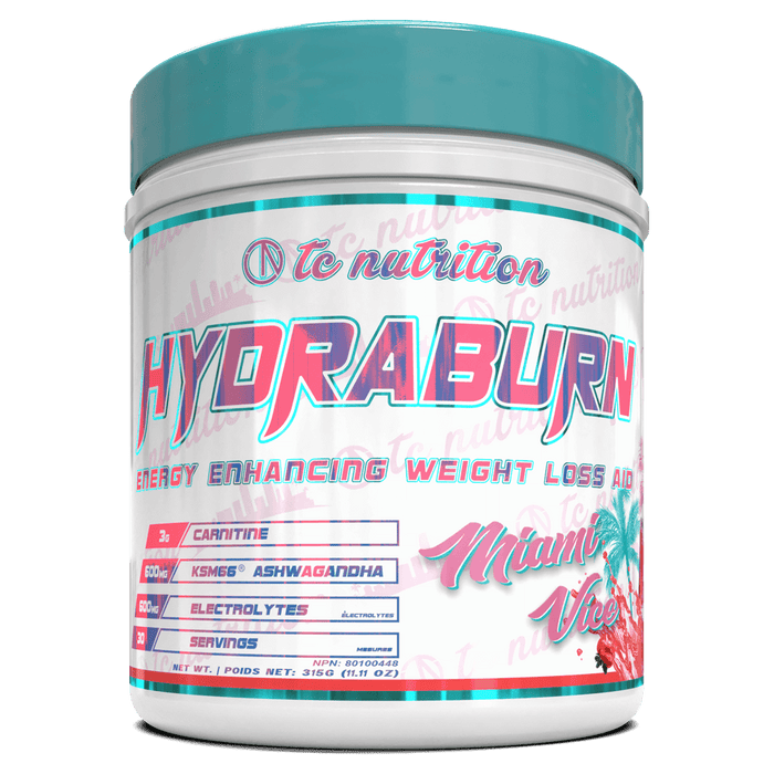 TC Nutrition HydraBurn Fat Burner Supplements 30 Servings / Miami Vice at Supplement Superstore Canada