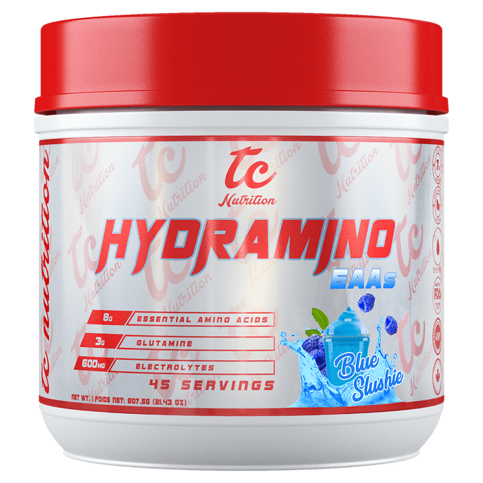 TC Nutrition HydraMino BCAA 45 Servings / Blue Slushie at Supplement Superstore Canada