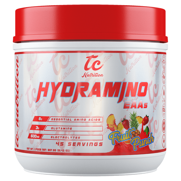 TC Nutrition HydraMino BCAA 45 Servings / Fruit Punch at Supplement Superstore Canada