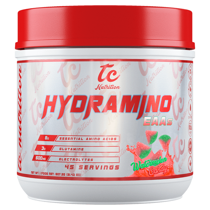 TC Nutrition HydraMino BCAA 45 Servings / Watermelon Candy at Supplement Superstore Canada