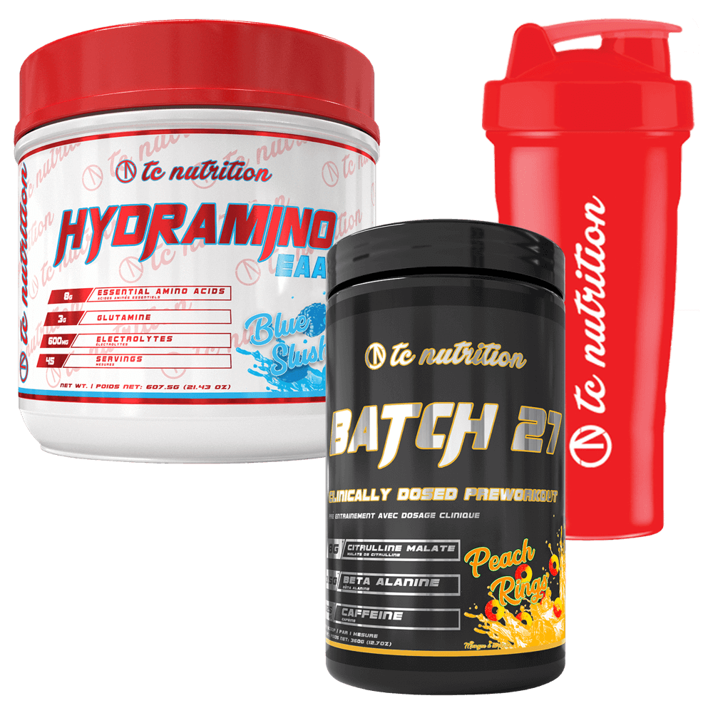 TC Nutrition Pre + Intra Workout Stack Stack Deal at Supplement Superstore Canada