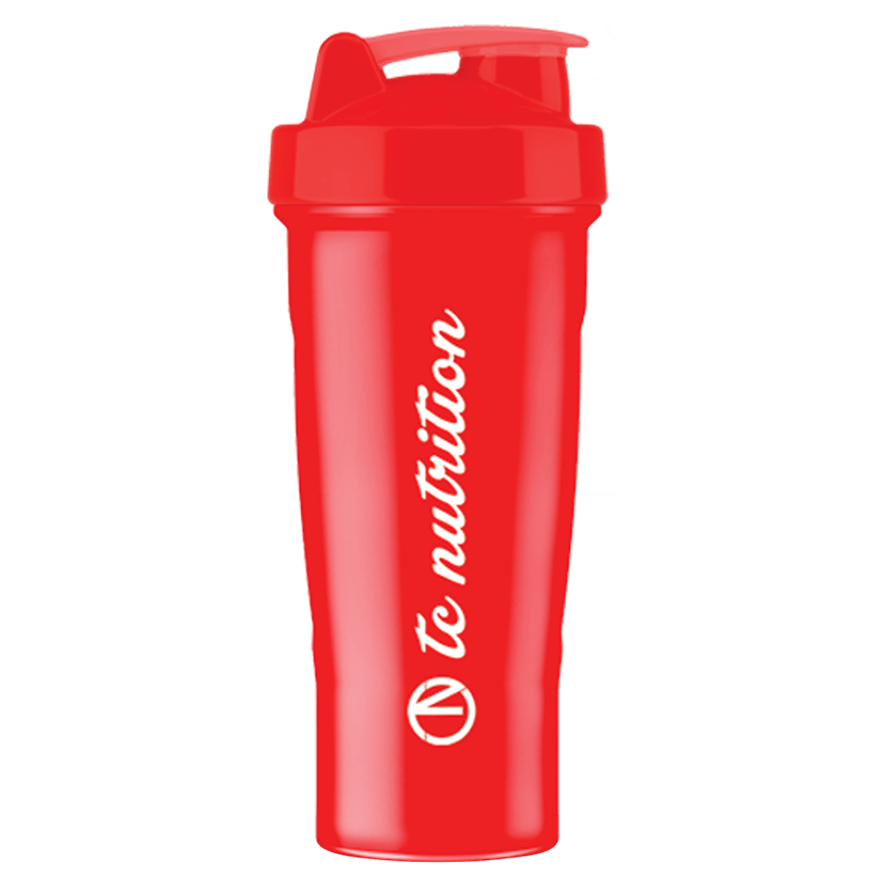 TC Nutrition Shaker Shaker Red/Red / 700ml at Supplement Superstore Canada