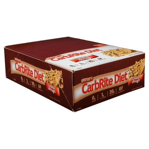 Universal Nutrition Doctor's CarbRite Diet Bar Protein Bars Box of 12 / Cookie Dough at Supplement Superstore Canada 039442081872